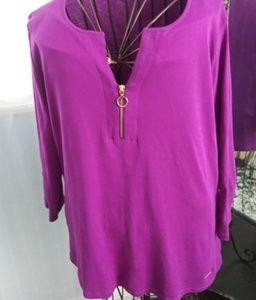 Ellen Tracy ladies blouse size XL